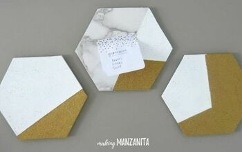 How to Make Hexagon Cork Memo Boards