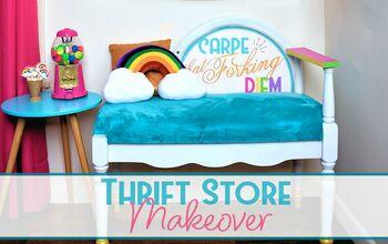 Thrift Store Bench Makeover