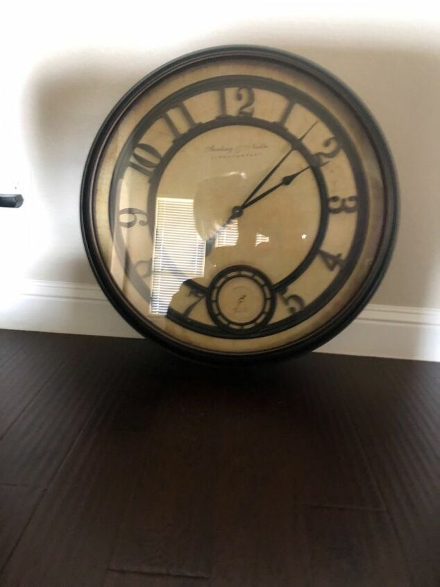 q help need some creative juices to repurposed this clock