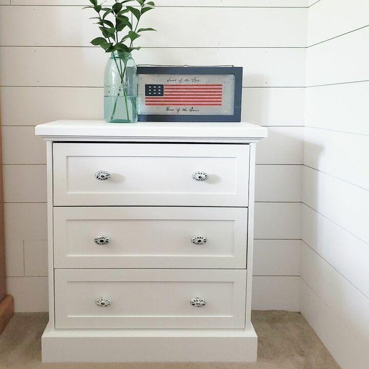How To Build A Ikea Rast Farmhouse Nightstand Diy Hometalk
