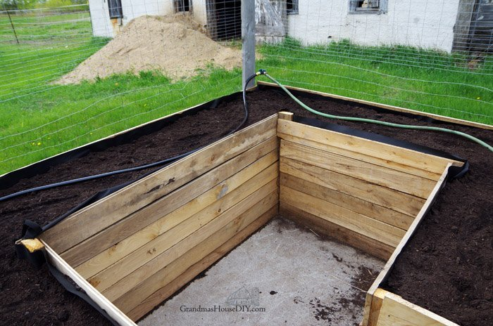 diy irrigation for my gardens leaky hose upcycling