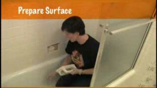 q how to fix soap dish tile in shower