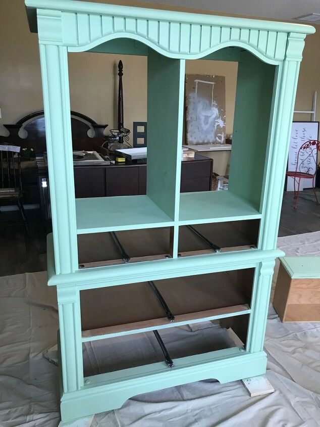 upcycled armoire cabinet diy farmhouse cabinet freebie
