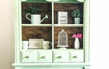 Upcycled Armoire Cabinet – DIY Farmhouse Cabinet Freebie!