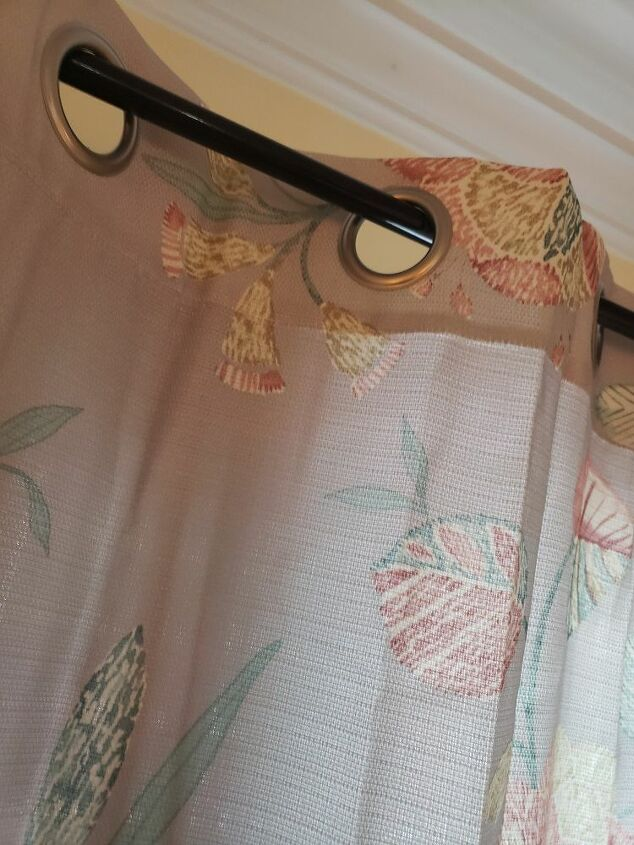 q skinny rod and grommet curtains