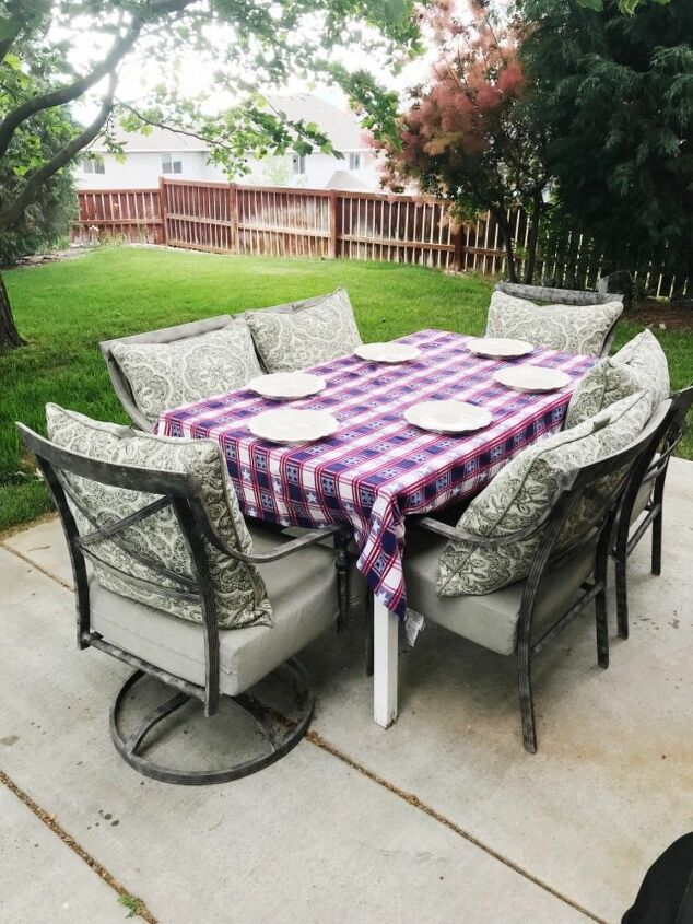 Groovy How To Make Patio Tablescapes Diy Hometalk Beutiful Home Inspiration Ommitmahrainfo