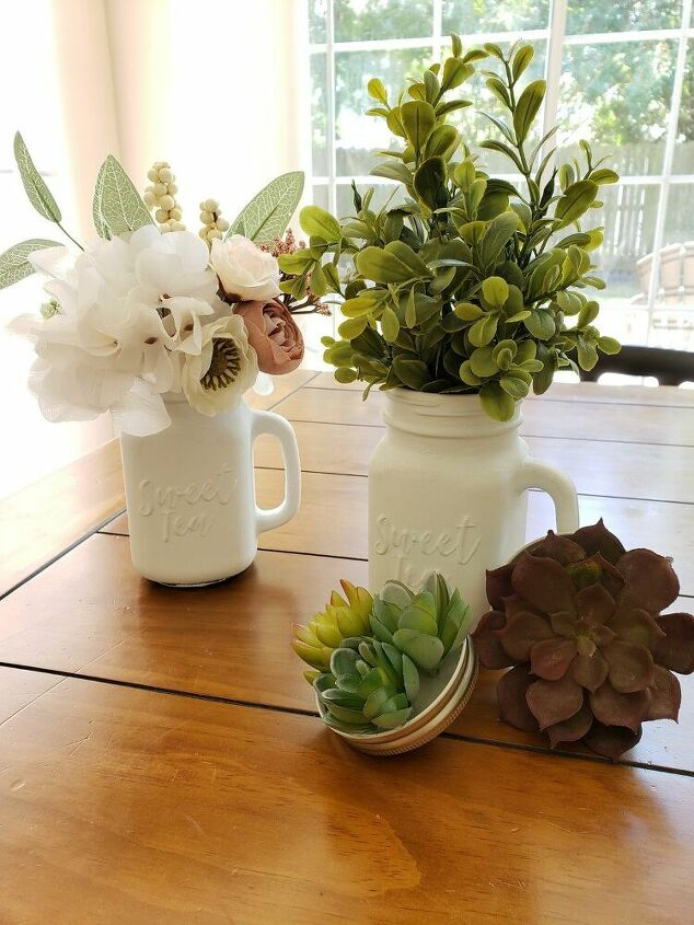 farmhouse mason jar vases succulent magnets