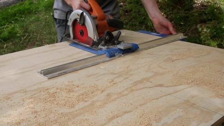 Using the Rip-Cut to rip plywood