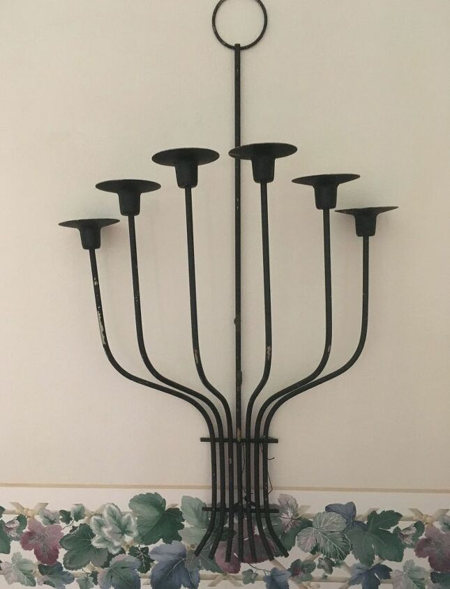 q how to give a new look to this sconce