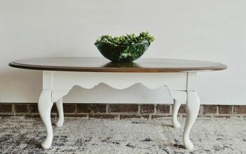 Out-dated Coffee Table Turned Farmhouse Chic