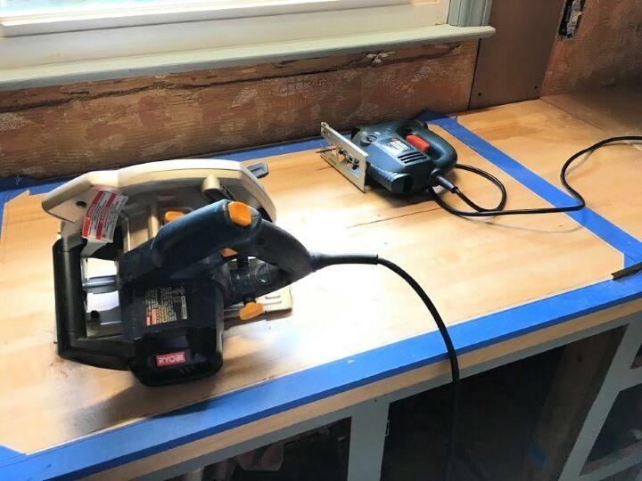 installing a kitchen sink in butcher block countertop