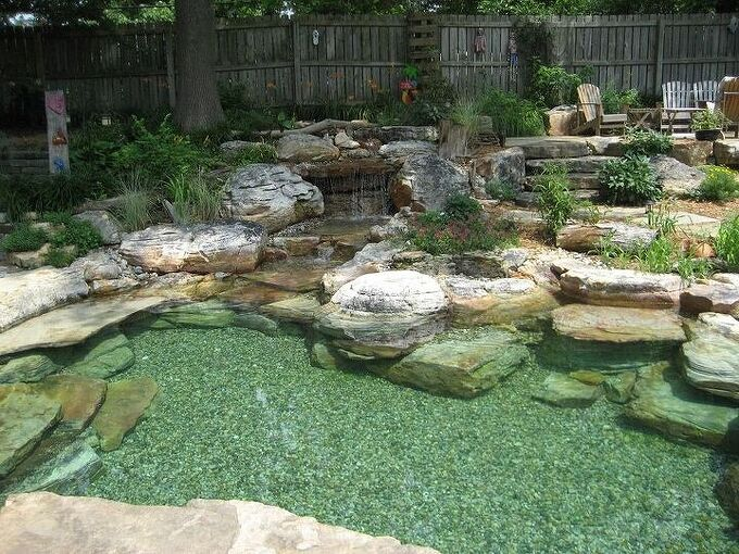 q how do i build a natural swimming pool