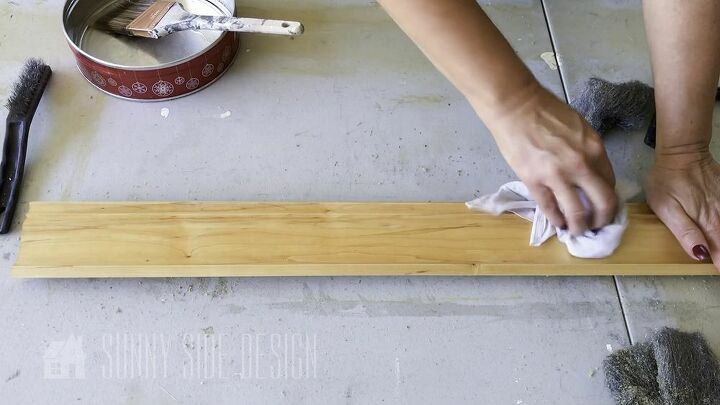 how to refinish a railing that will last