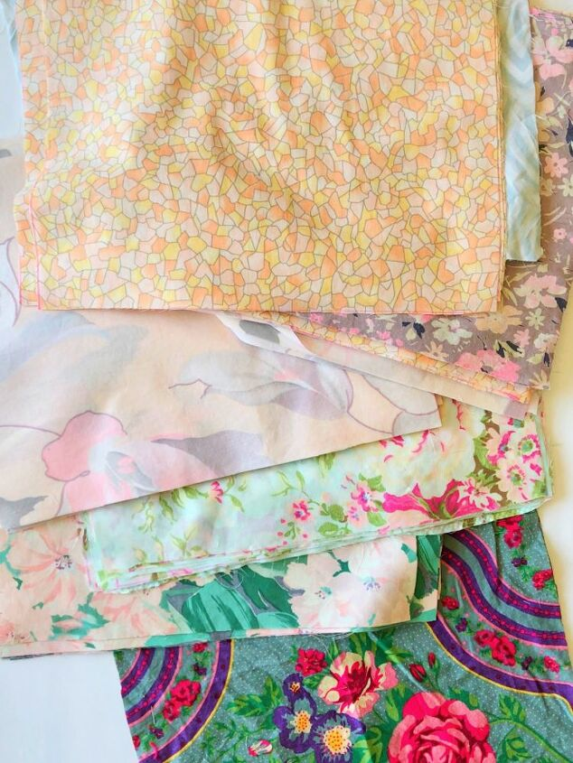 no sew patchwork curtains