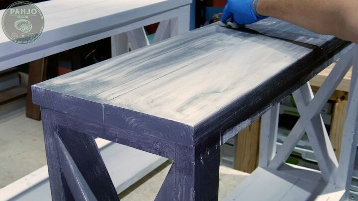 how to distress painted furniture 2 easy techniques