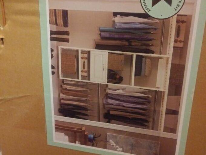 q walk in closet kits