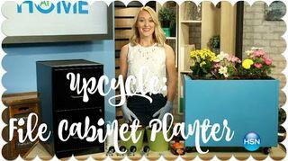 q filing cabinet planter