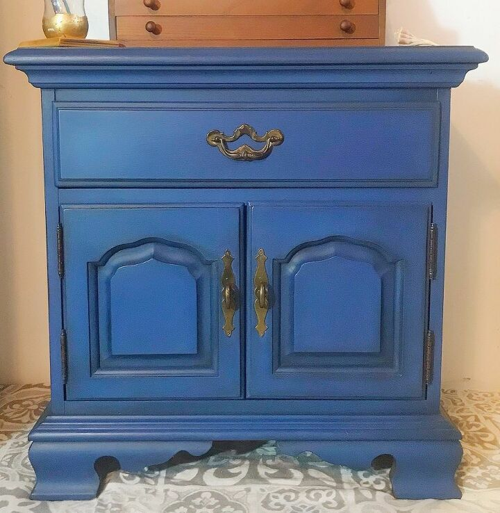 end table chalk paint makeover