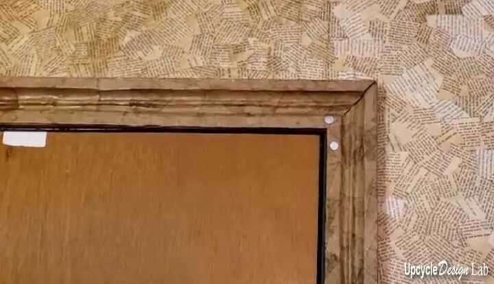 craft room makeover extreme upcycling cardboard baseboard and trim