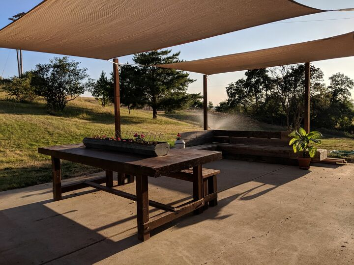 s 17 summer outdoor ideas, How to Shade Your Patio With Shade Sails