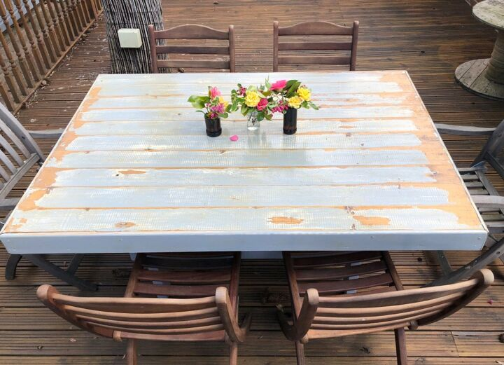 s 17 summer outdoor ideas, How to Restore Your Garden Table
