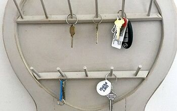 Repurposed Key Organizer