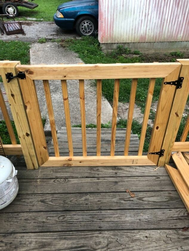 outdoor baby gate