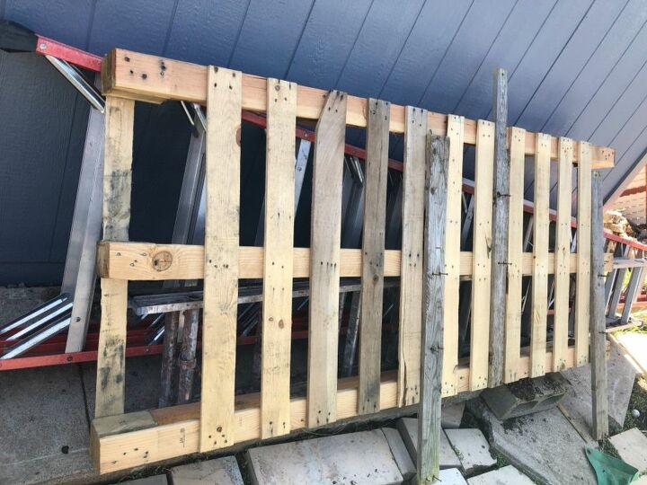 Pallet from spa delivery