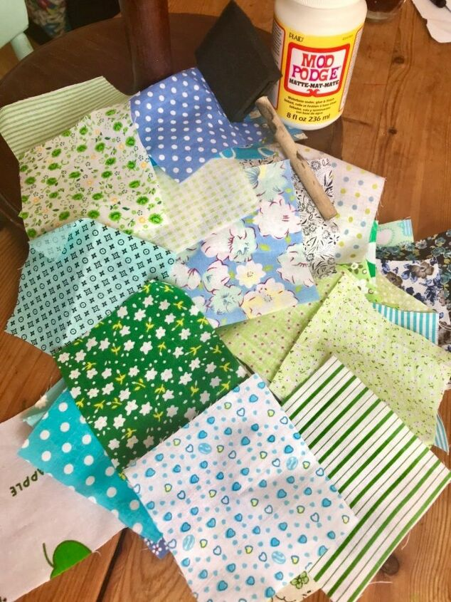 Fabric for decoupage
