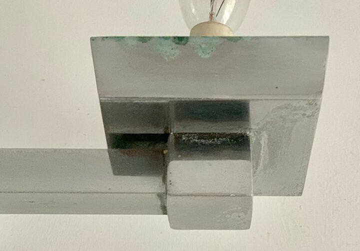 q how do you restore chrome bathroom fixture