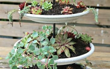 How To Make An Easy Tiered Succulent Planter