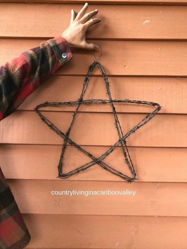 make a metal art star