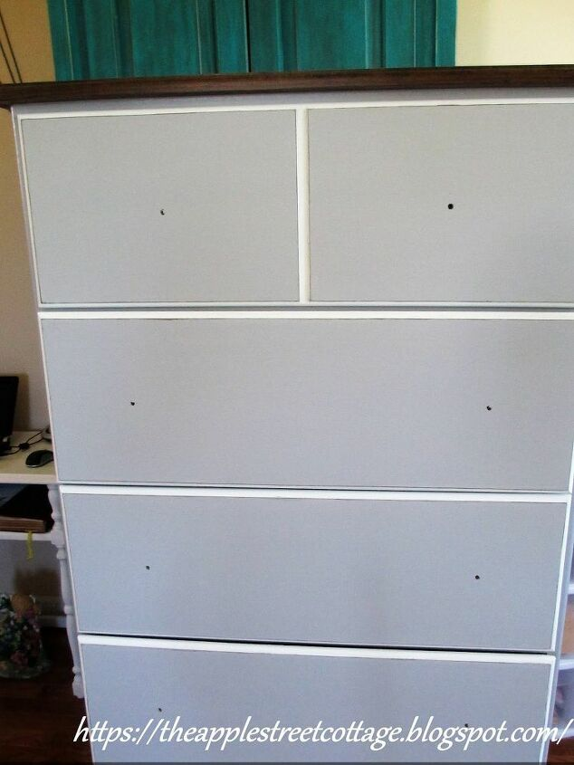 the unfinished chest of drawers