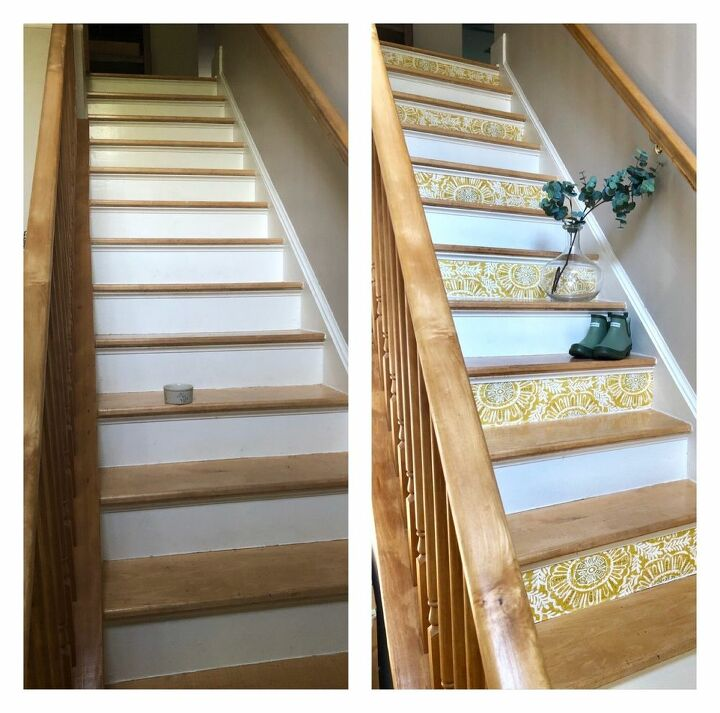 Before and After DIY Staircase Makeover