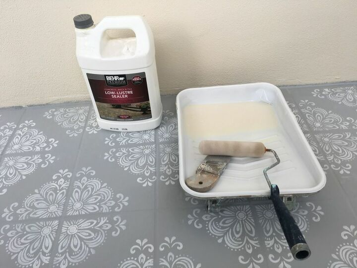 how to paint old outdated tile to look fresh new