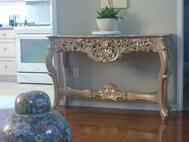 Console table in the same room