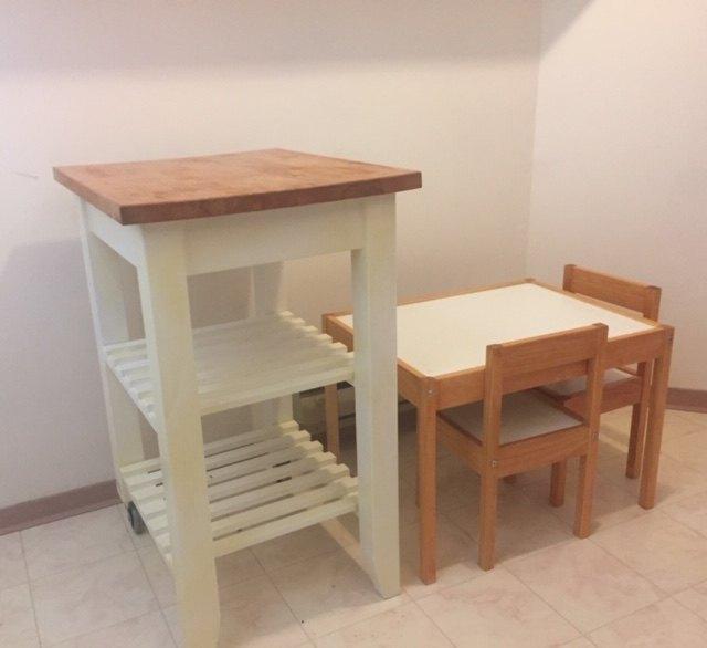 How to Paint IKEA Bekvam Kitchen Trolley Update | Hometalk