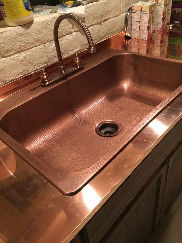 How to Make Copper Countertops DIY   Hometalk