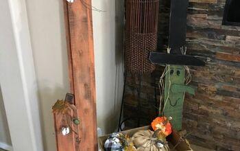 Fence Board Fall Porch Decor