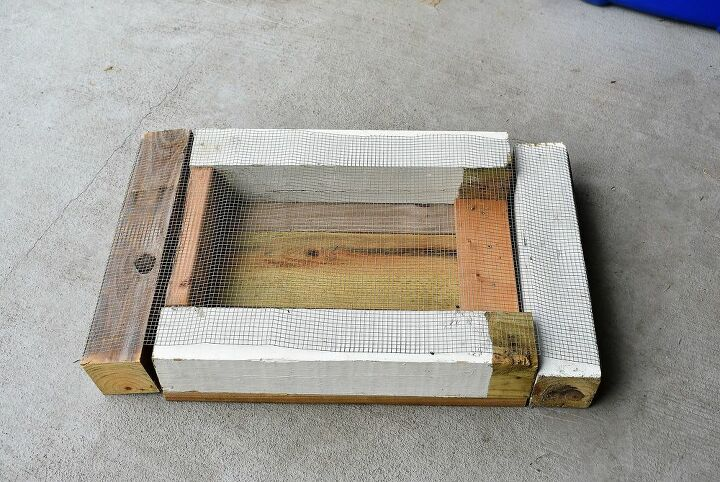 quick easy compost sifter