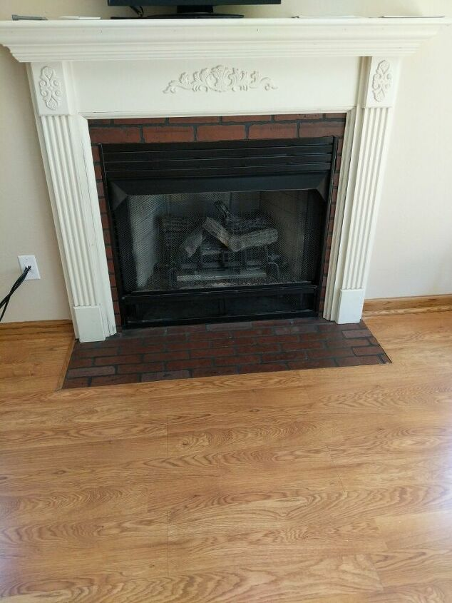 q suggestions to update a fireplace