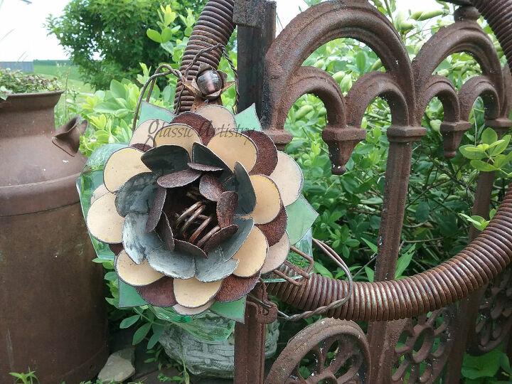 salvaged art blooms diy tutorial