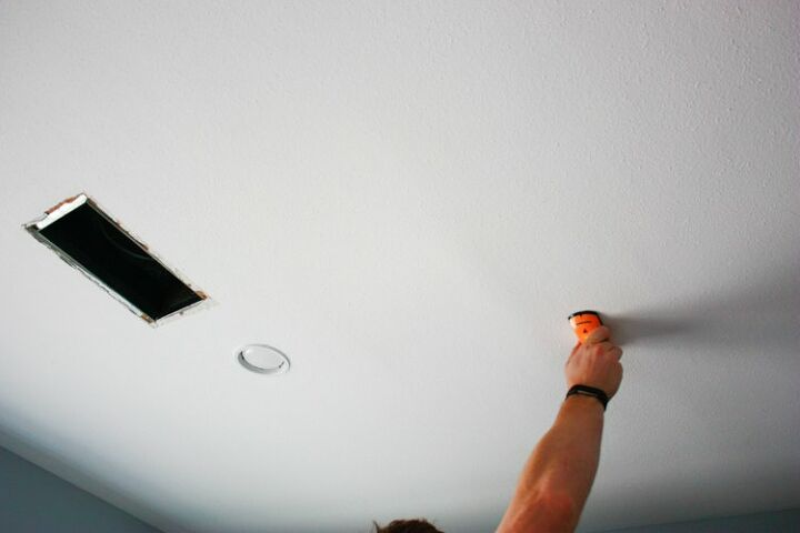 diy faux coffered ceiling