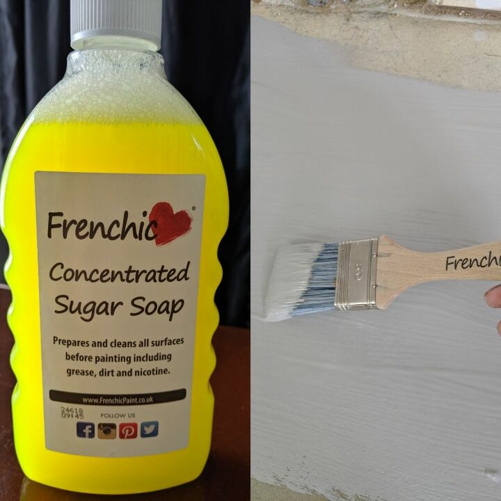 making a pantry how to stencil tile over concrete and seal with epoxy