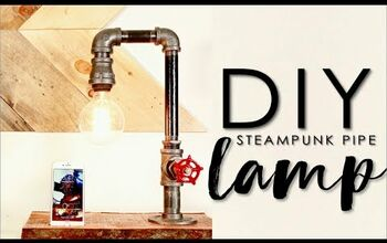 How to Make a Pipe Lamp With a Valve Switch & Phone Charger