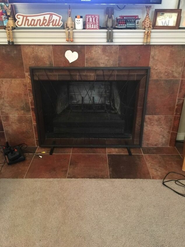 q ugly fireplace plain walls