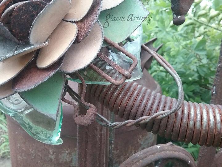 rustic garden wreath diy tutorial