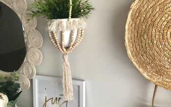 Hanging Boho Pot Hack
