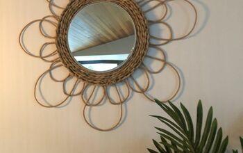 DIY  Hyacinth Mirror