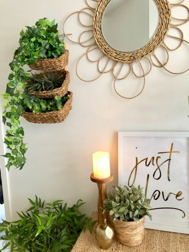 diy hyacinth mirror